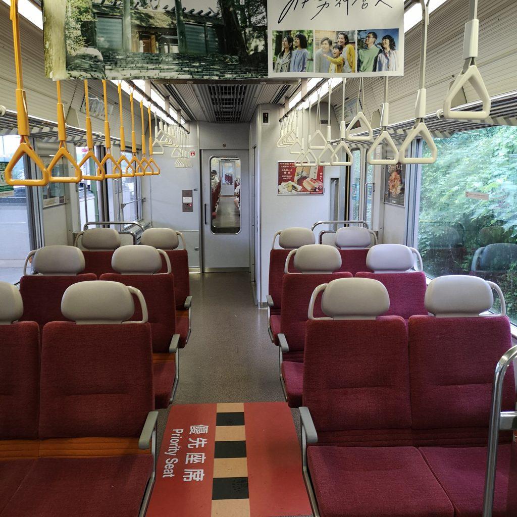 近鉄 大阪線急行 5820系 車内 優先座席
