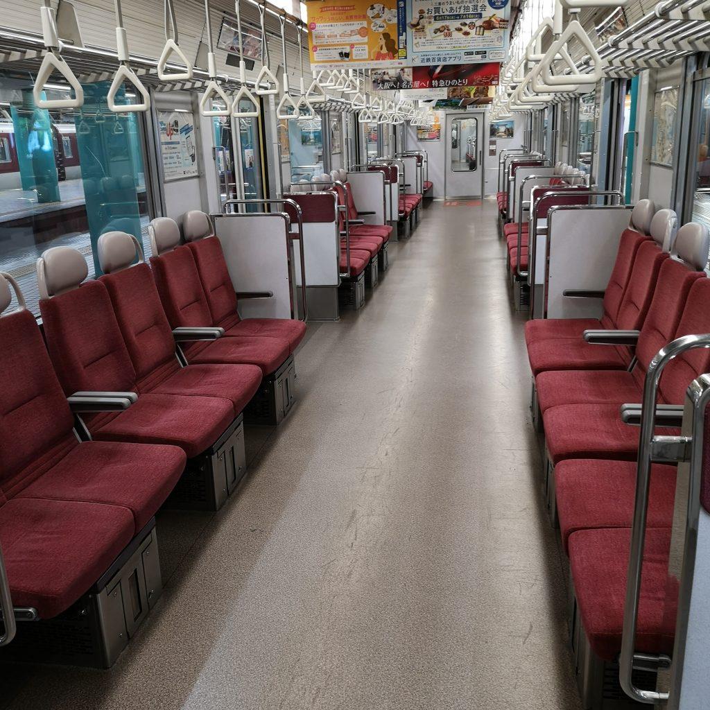 近鉄 大阪線急行 5820系 車内