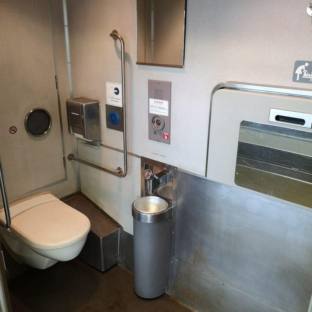 近鉄 大阪線急行 5820系 お手洗い トイレ