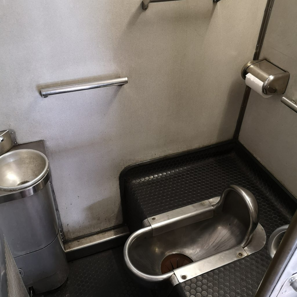 快速シーサイドライナー キハ66系 お手洗い トイレ