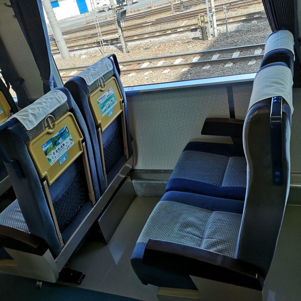 特急剣山 キハ185系 普通車 座席