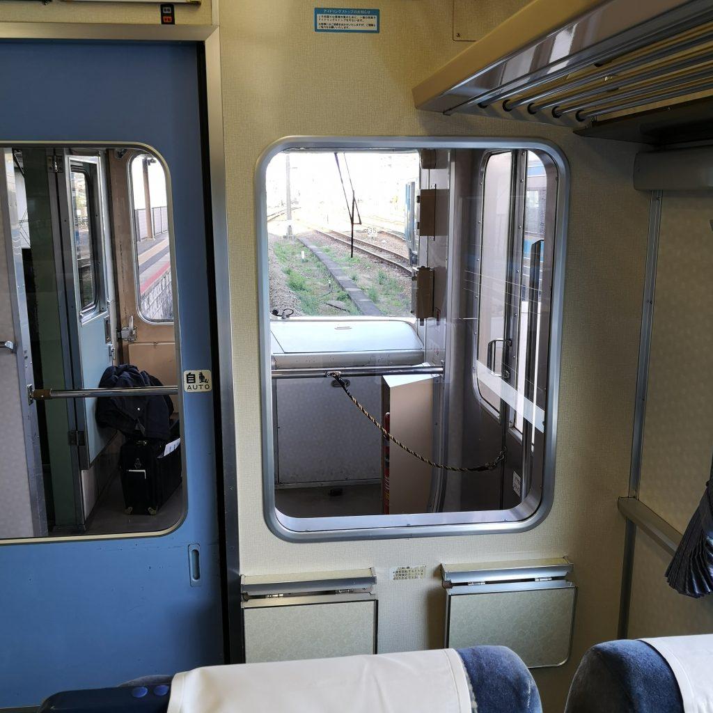 特急剣山 キハ185系 普通車 最前列座席