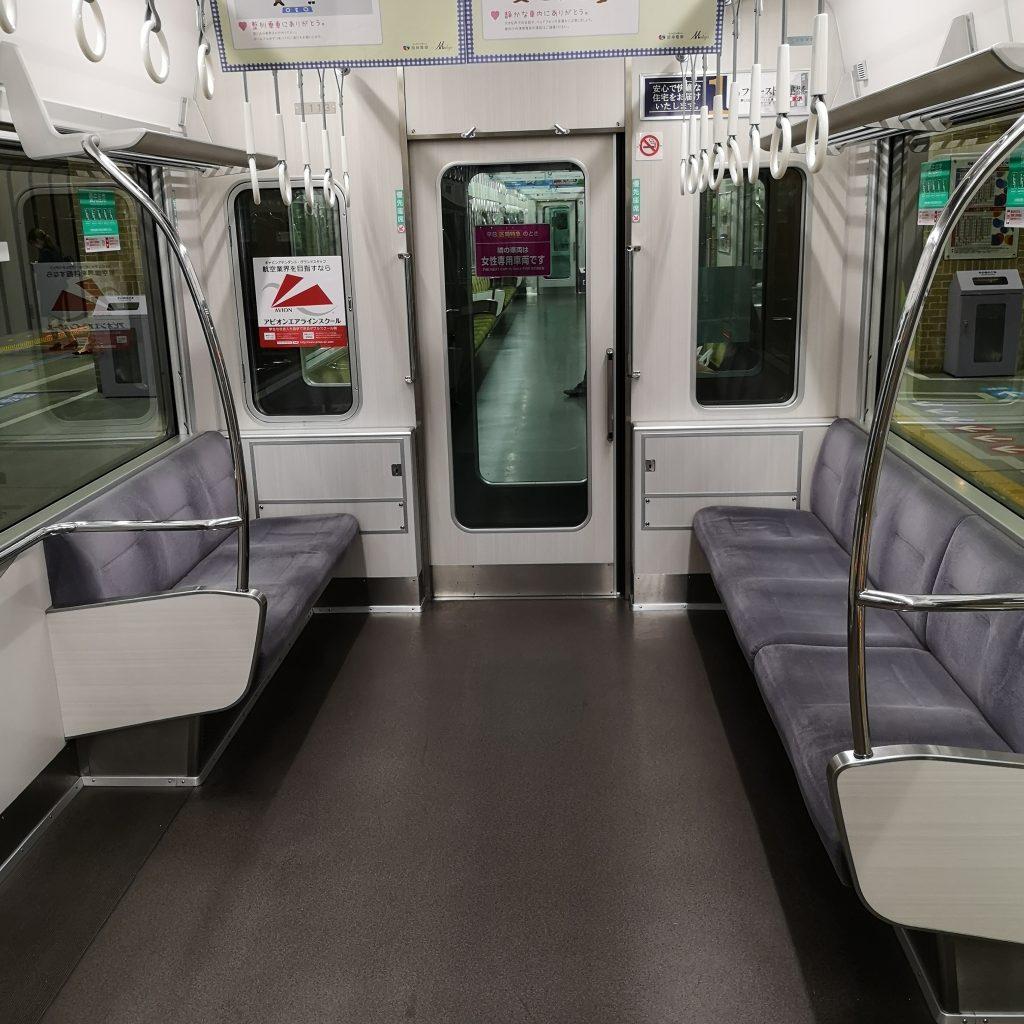 近鉄奈良線 阪神 直通快速急行 阪神1000系 優先座席