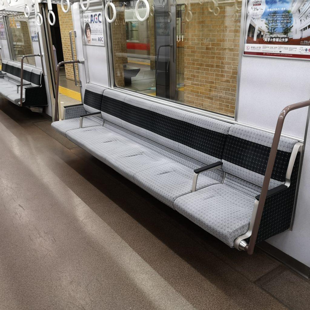 近鉄奈良線 阪神 直通快速急行 近鉄9820系 座席