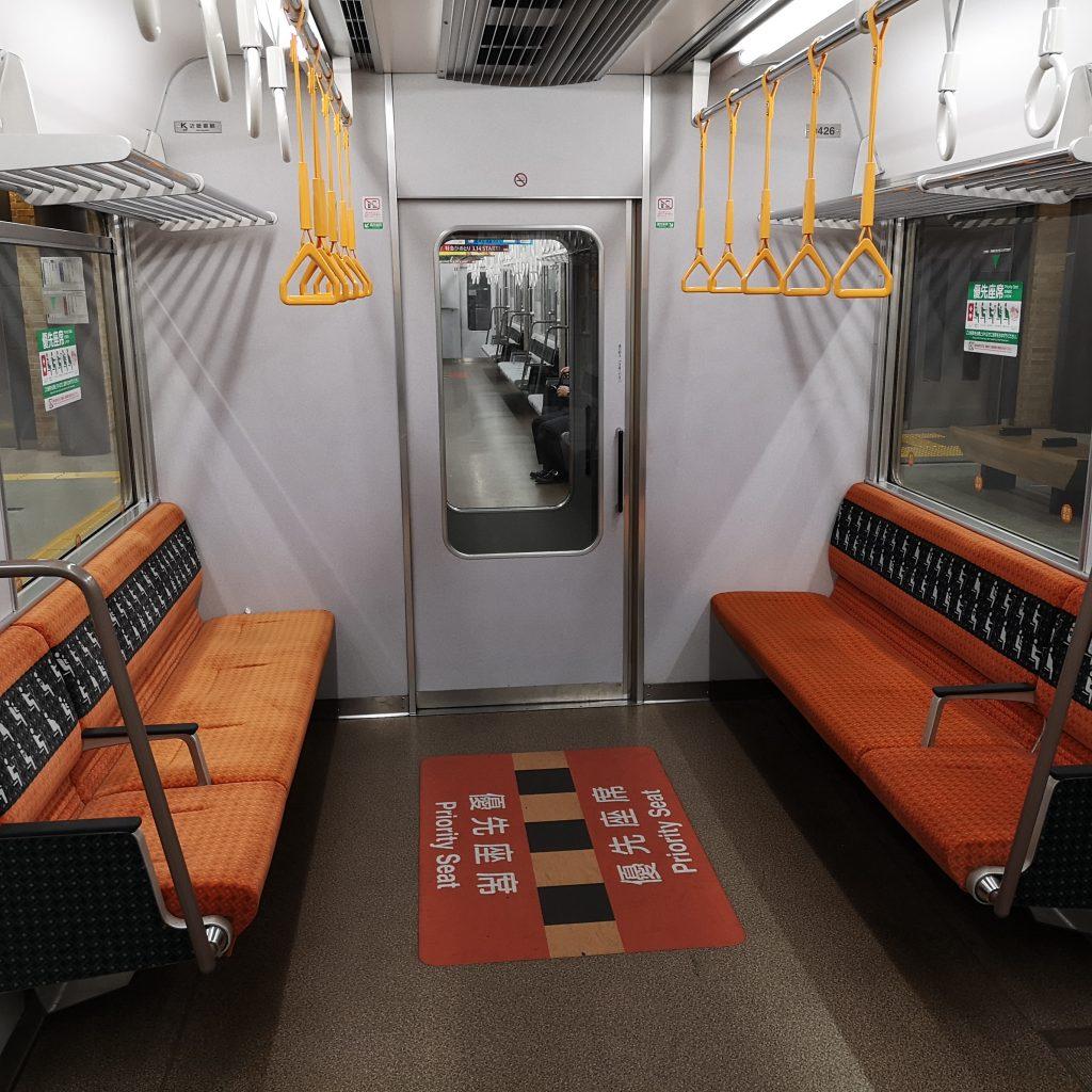 近鉄奈良線 阪神 直通快速急行 近鉄9820系 優先座席