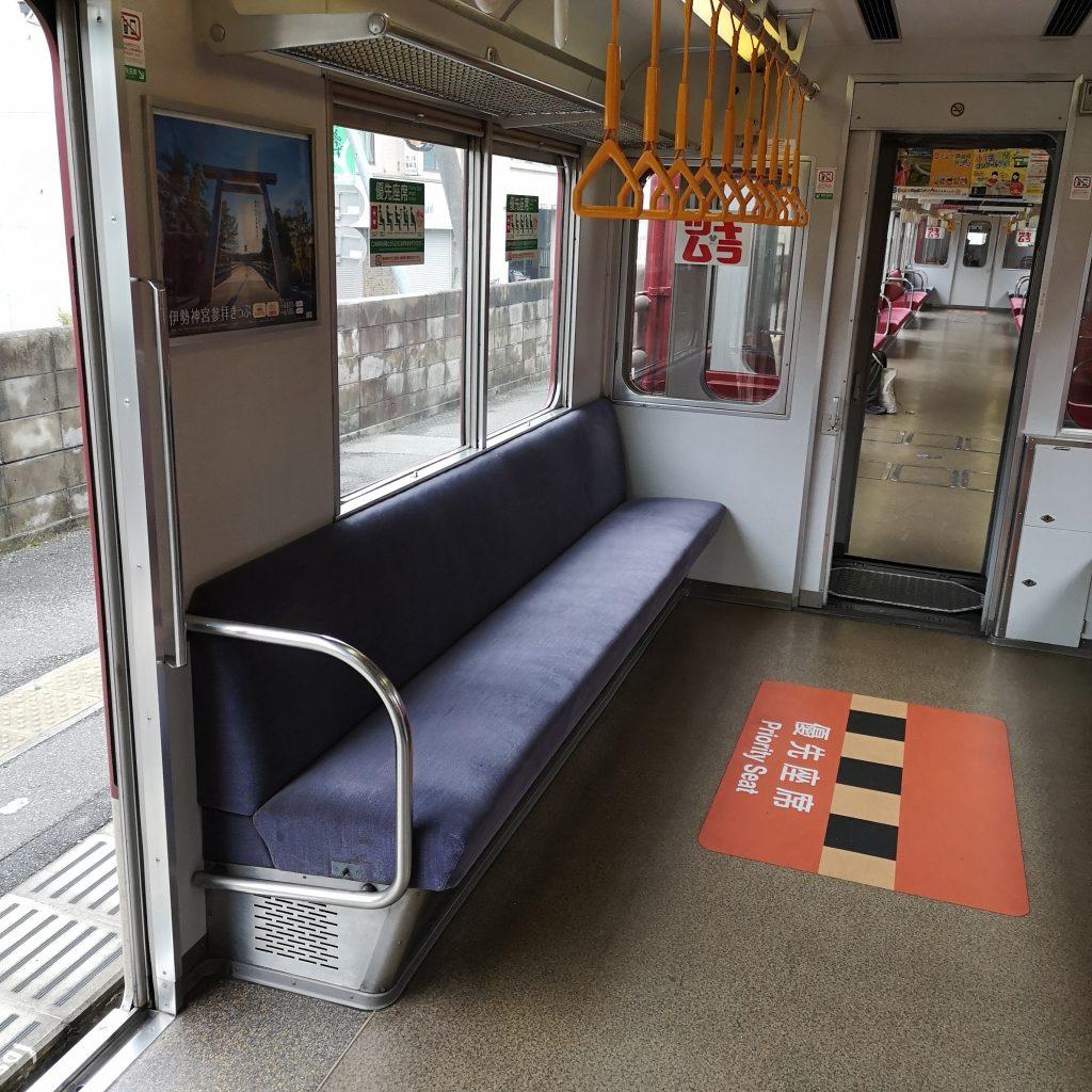 近鉄 南大阪線 吉野線 急行 6200系 優先座席