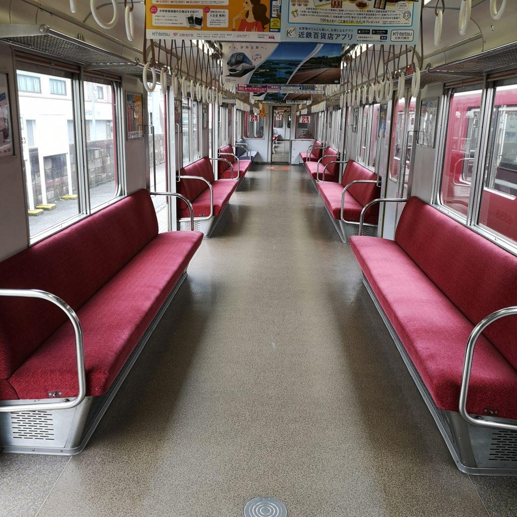 近鉄 南大阪線 吉野線 急行 6200系 車内