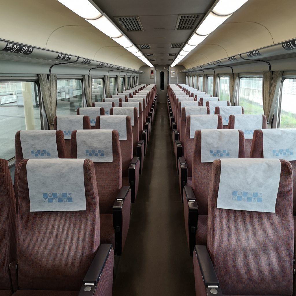 近鉄 南大阪線 吉野線 特急 16000系 車内