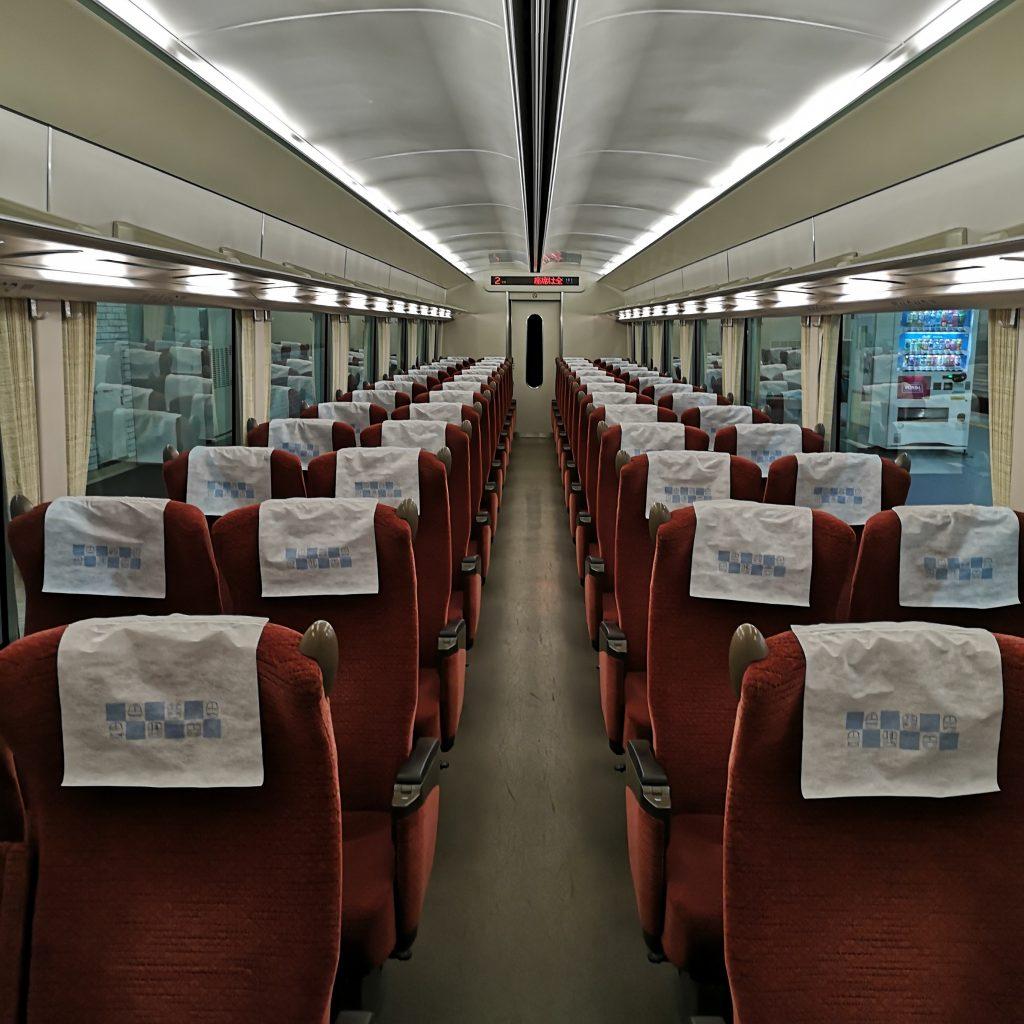 近鉄 南大阪線 吉野線 特急 16600系 車内