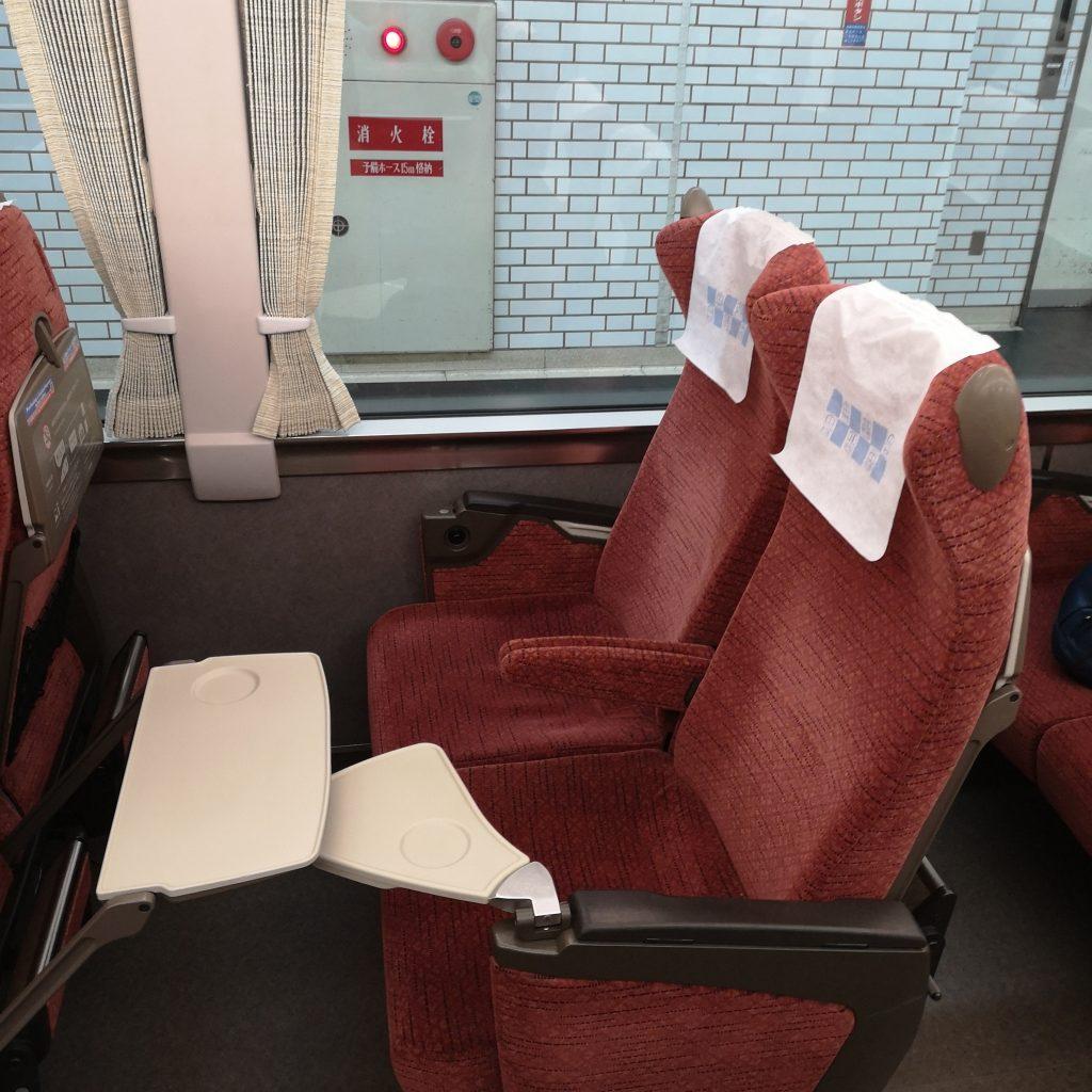 近鉄 南大阪線 吉野線 特急 16600系 座席