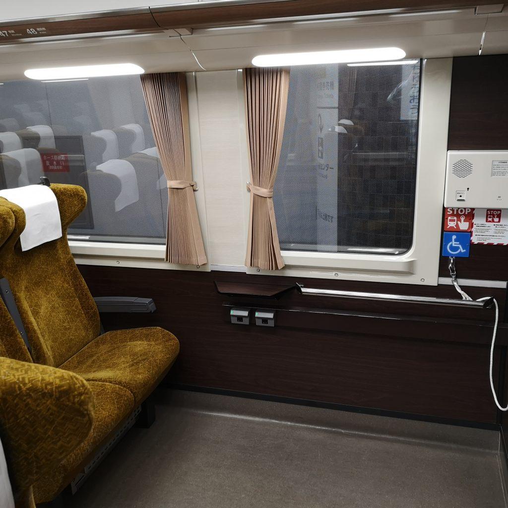 南海 泉北高速 泉北ライナー 12000系 1号車 車いす対応座席