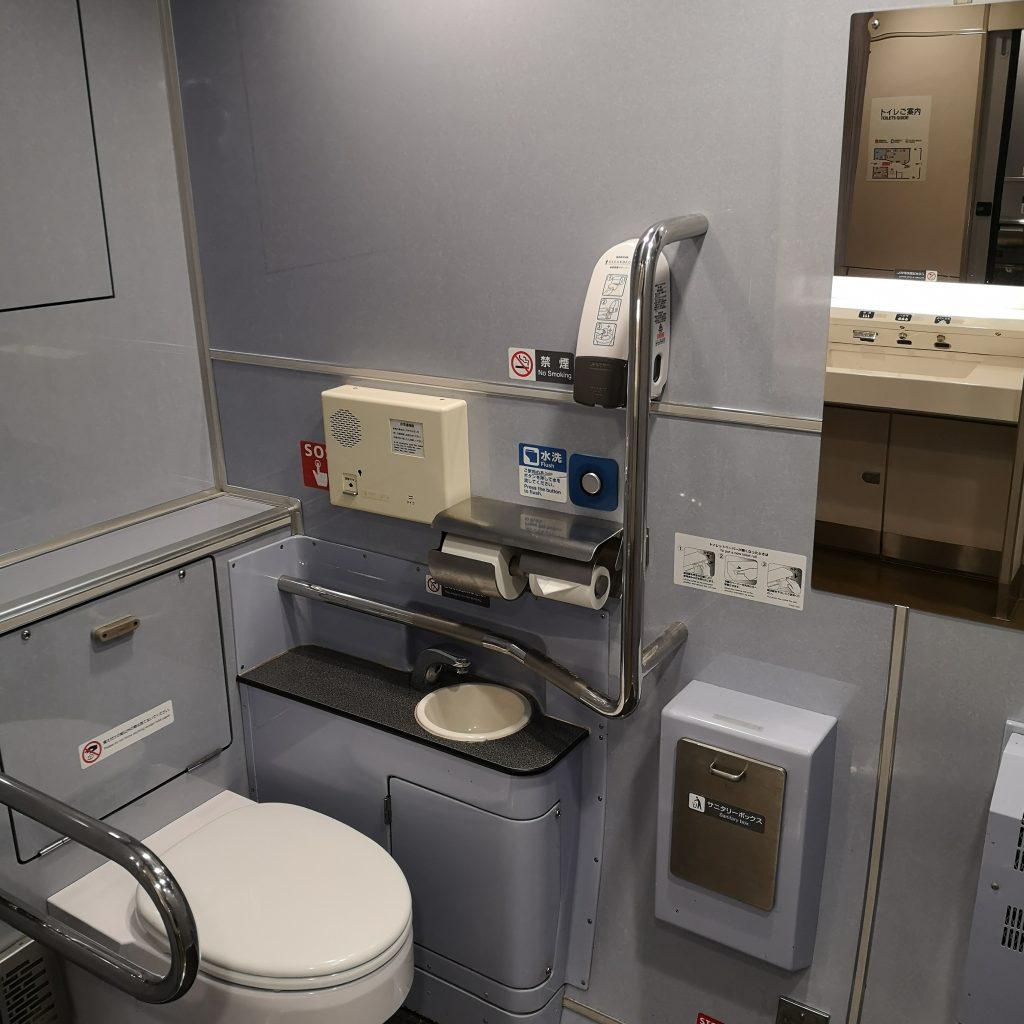 南海 サザン 12000系 多目的お手洗い 多目的トイレ