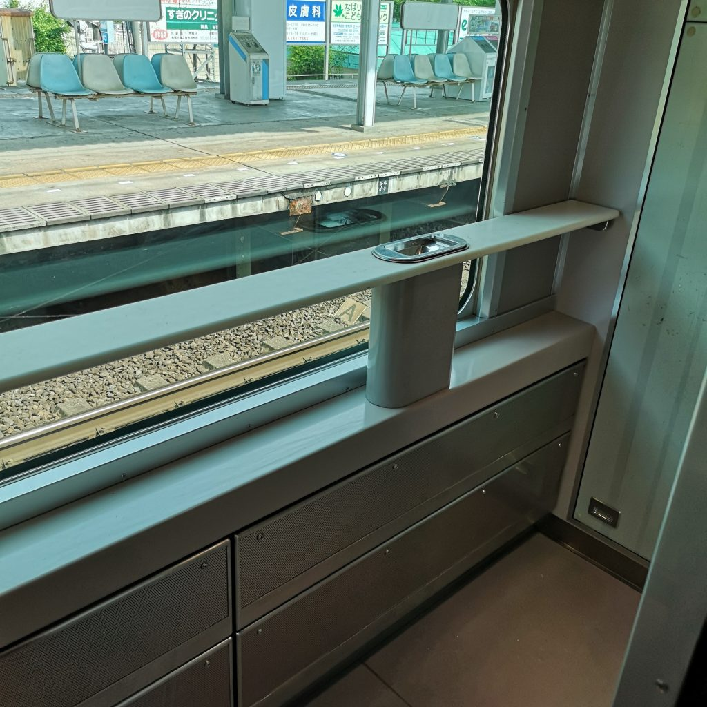 近鉄 阪伊特急 12410系 喫煙ルーム