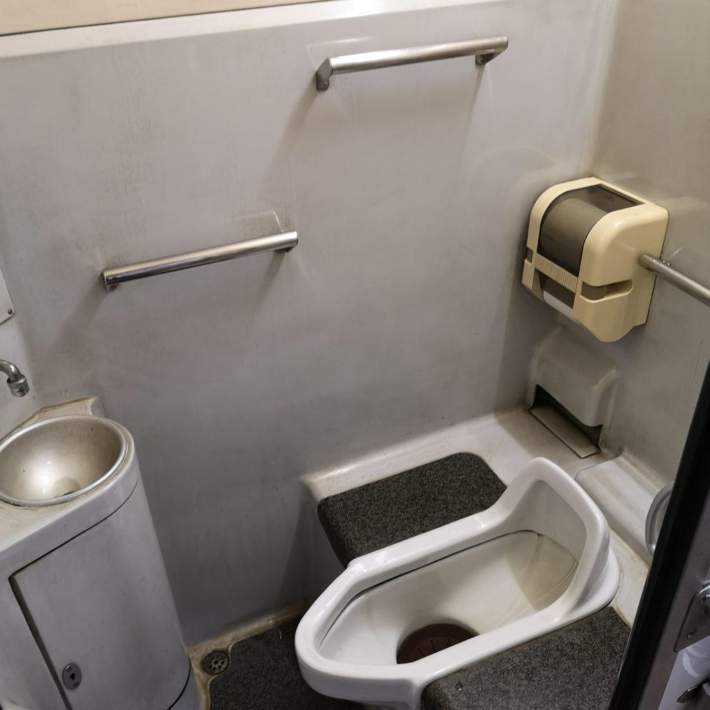 快速みよしライナー キハ47 お手洗い トイレ
