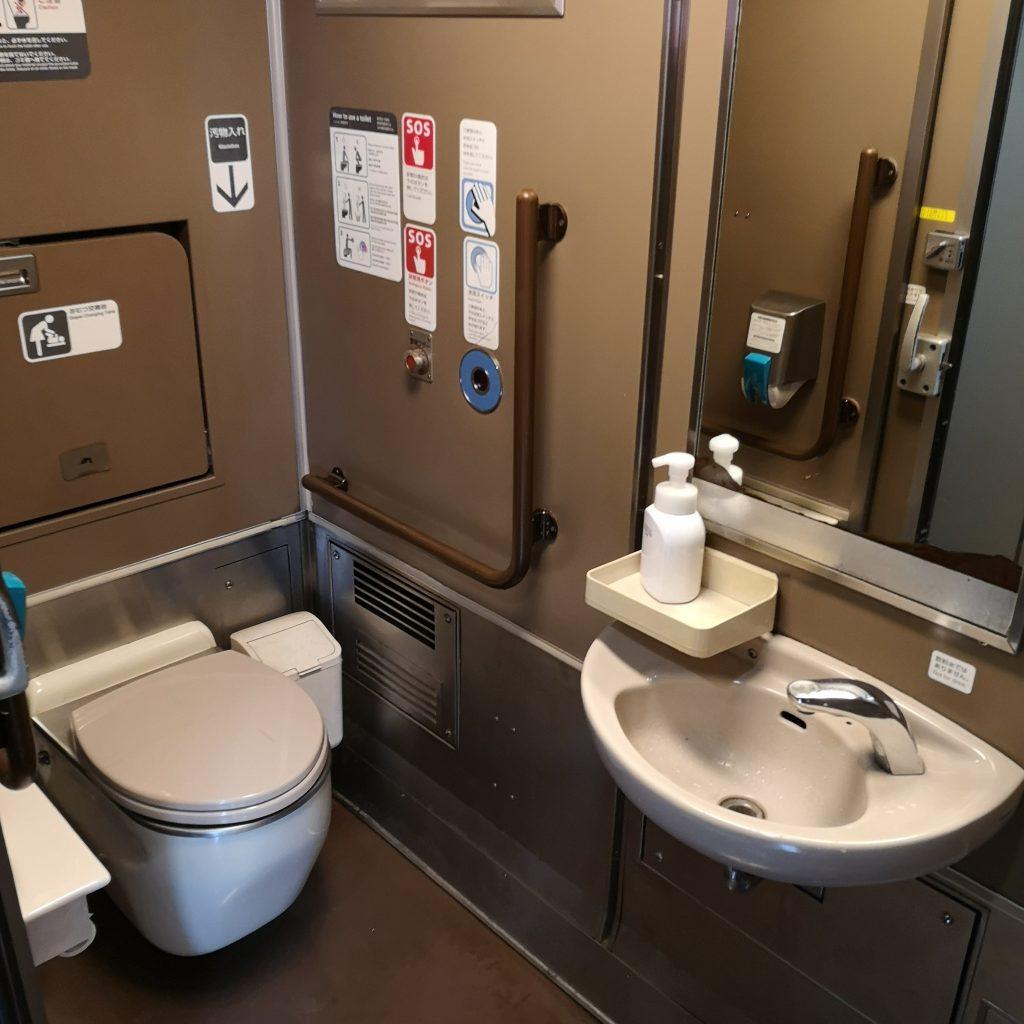 特急スーパーまつかぜ キハ187 多目的お手洗い 多目的トイレ