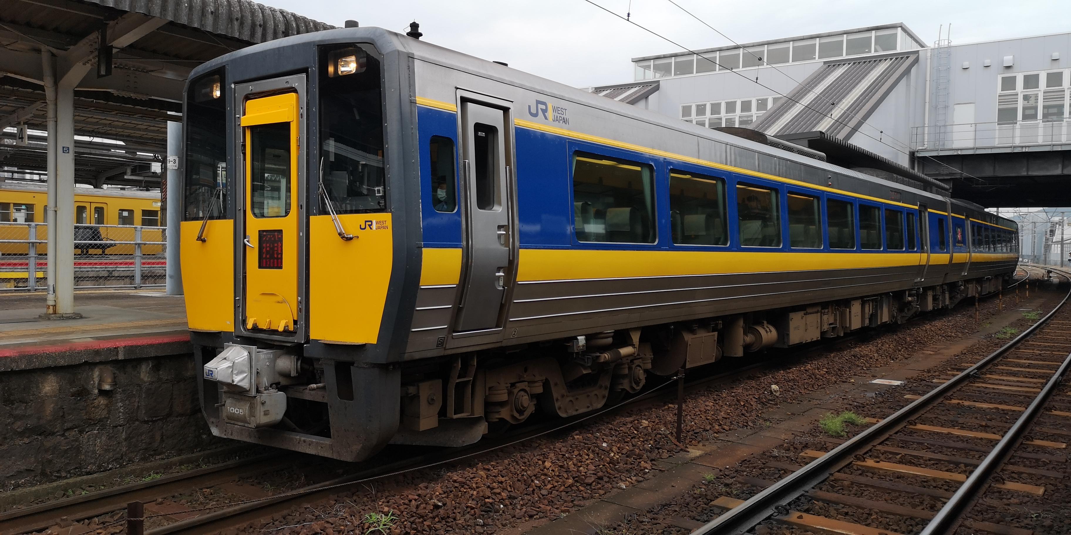特急スーパーおきの車両、座席、お得な切符などについて解説。鳥取 ...