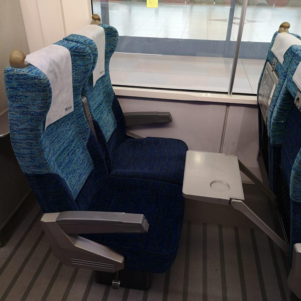 名鉄 2200系 特別車 座席