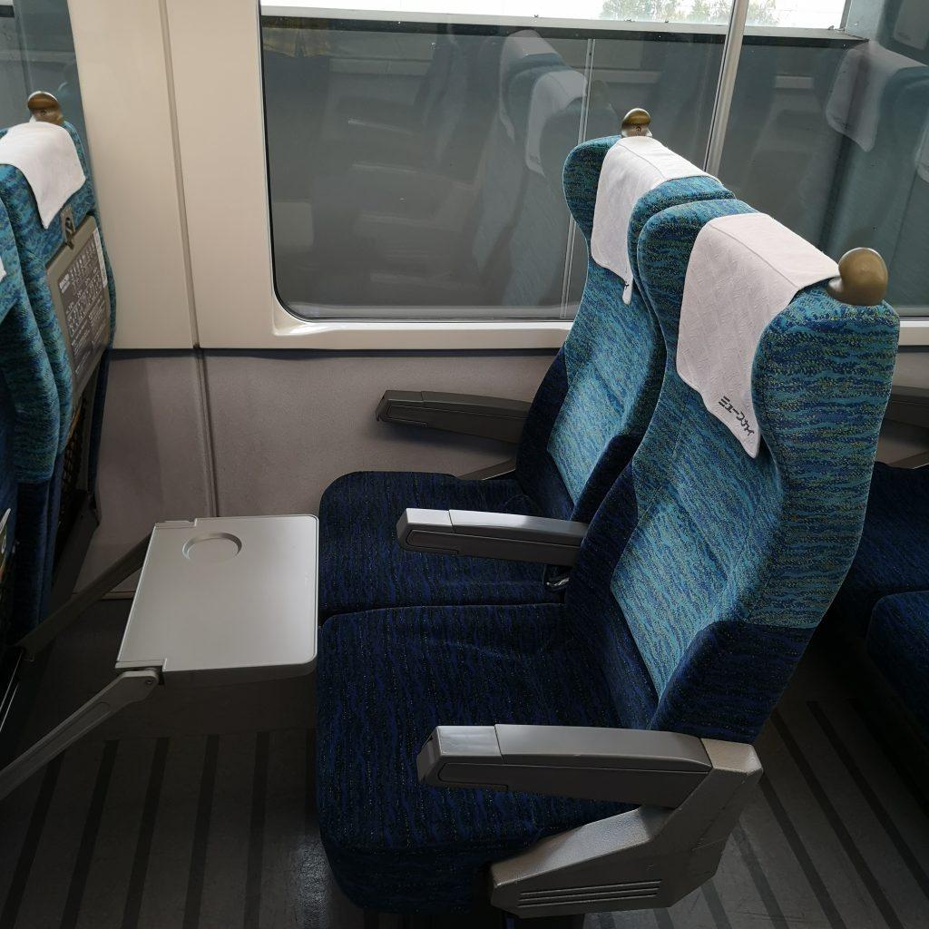 名鉄 ミュースカイ 2000系 座席