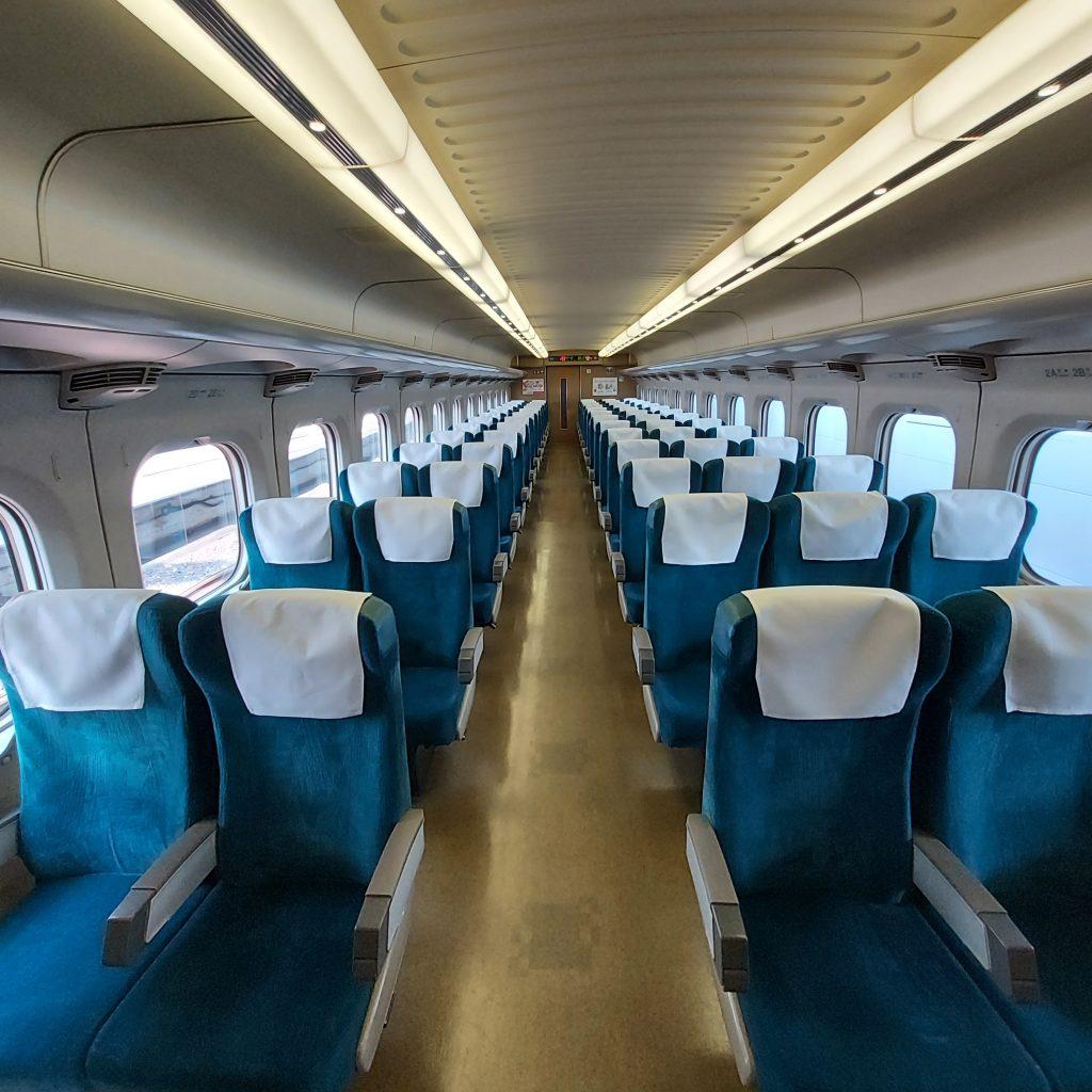 新幹線 こだま号 700系 普通車 自由席 車内