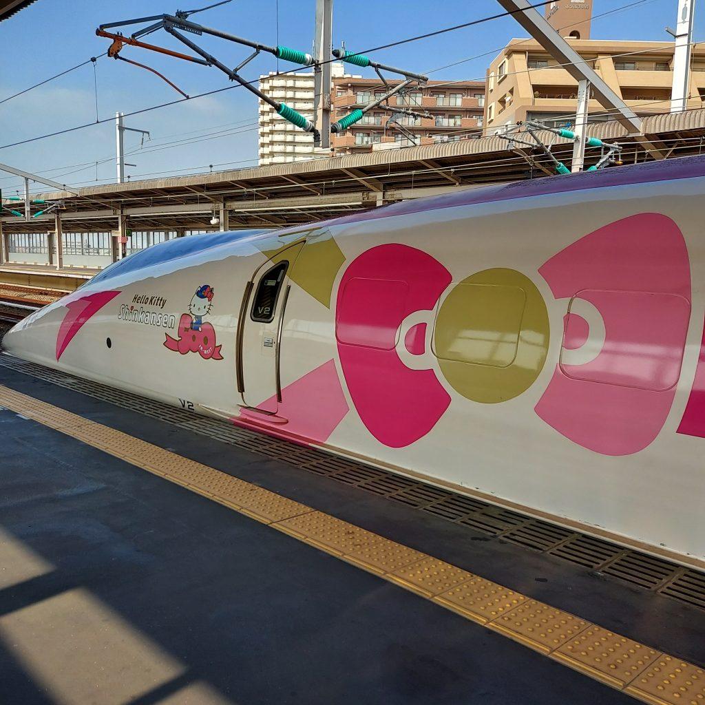 500系 ハローキティ新幹線
