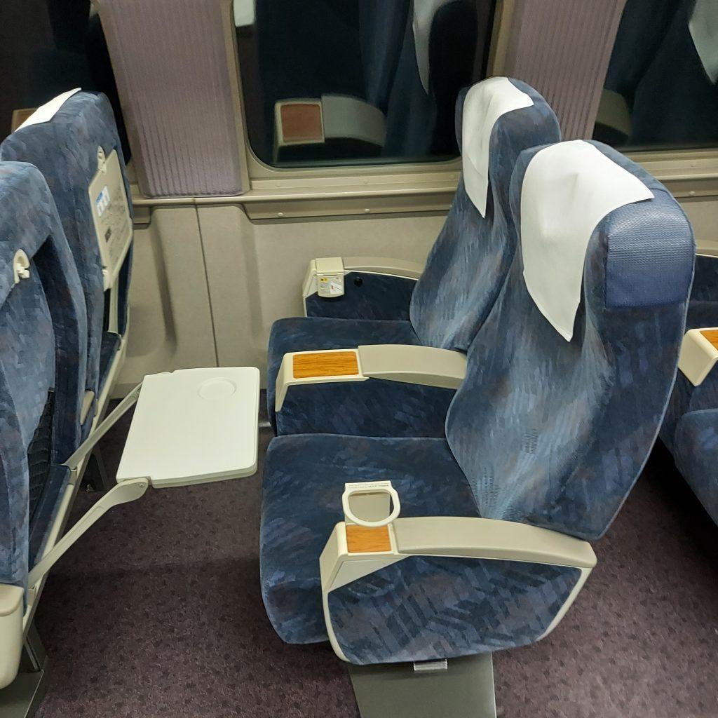 新幹線 500系 普通車 指定席 座席