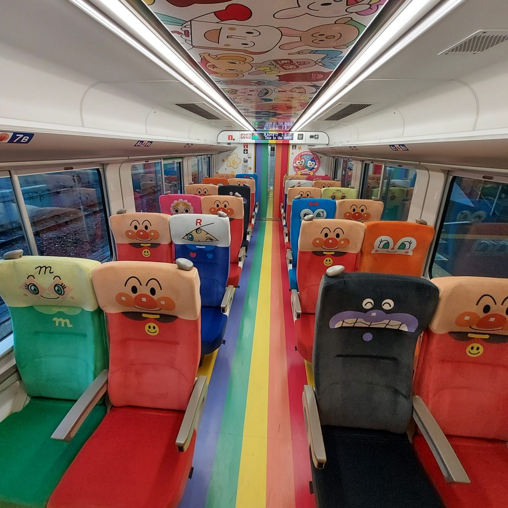 特急 南風 2700系 アンパンマン列車 1号車 アンパンマンシート
