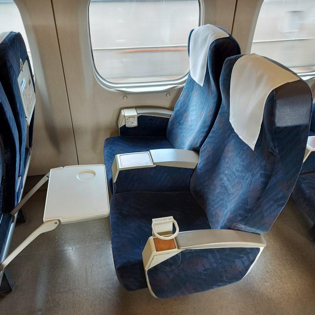 新幹線 700系 レールスター 普通車 指定席 座席