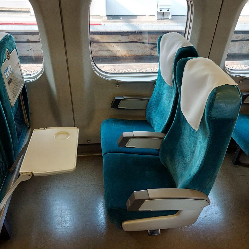 新幹線 700系 レールスター 普通車 自由席 座席