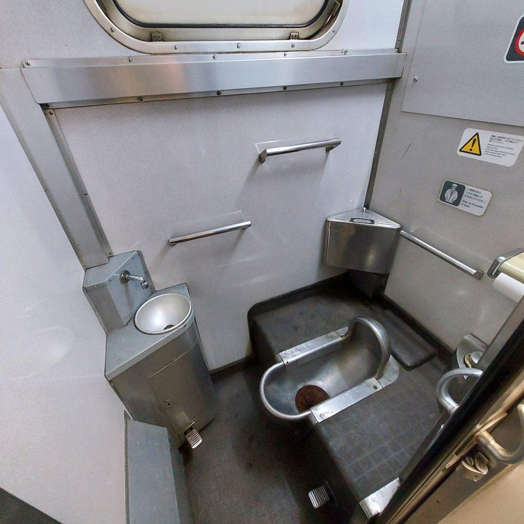 快速ことぶき キハ47 お手洗い トイレ