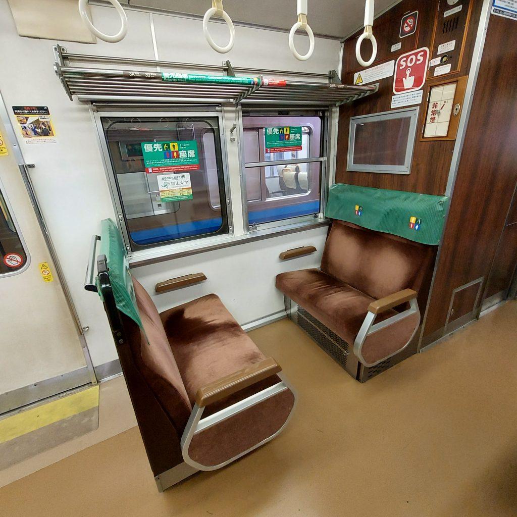快速 サンライナー 117系 優先座席