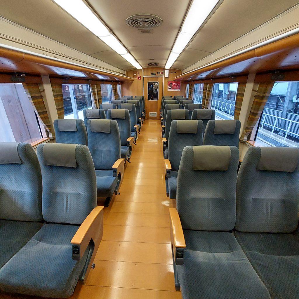 特急 九州横断特急 キハ185系 普通車 指定席 自由席