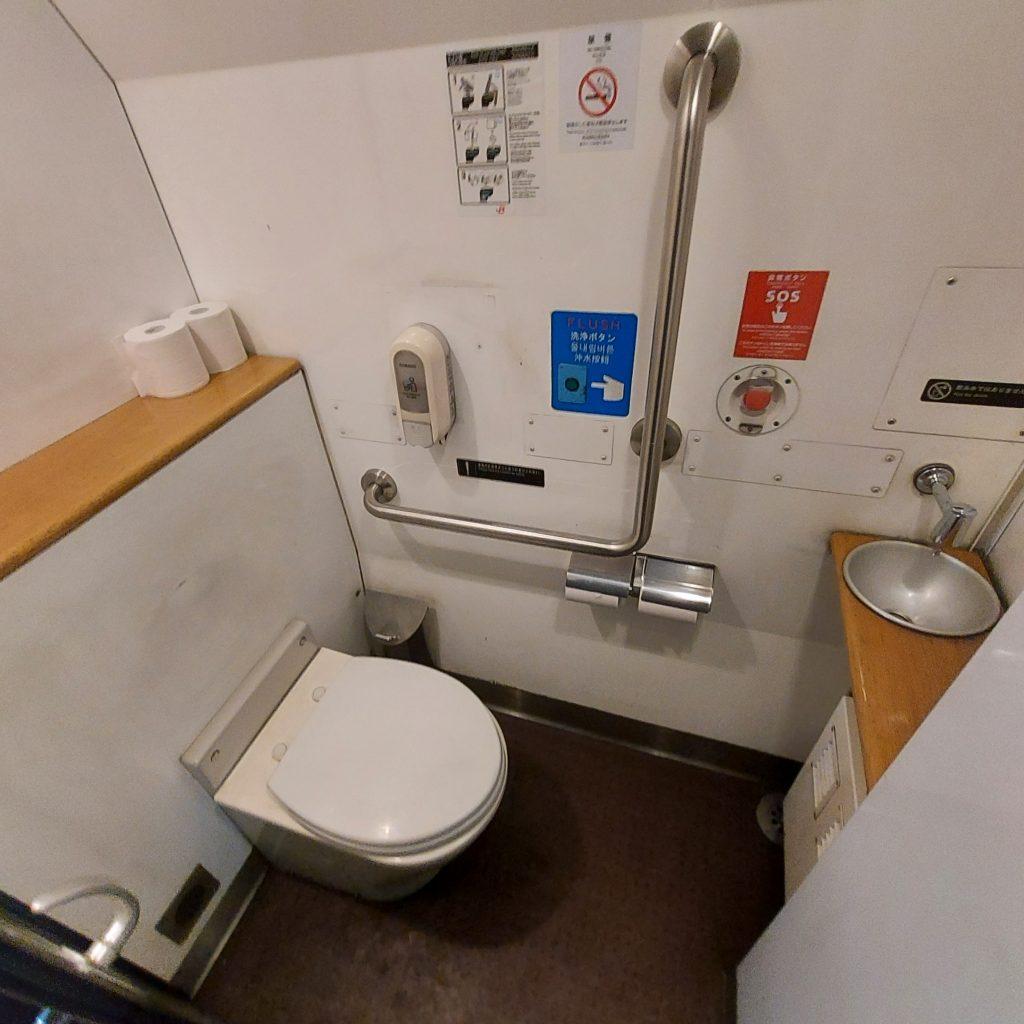 特急 ゆふ キハ185 普通車 お手洗い トイレ