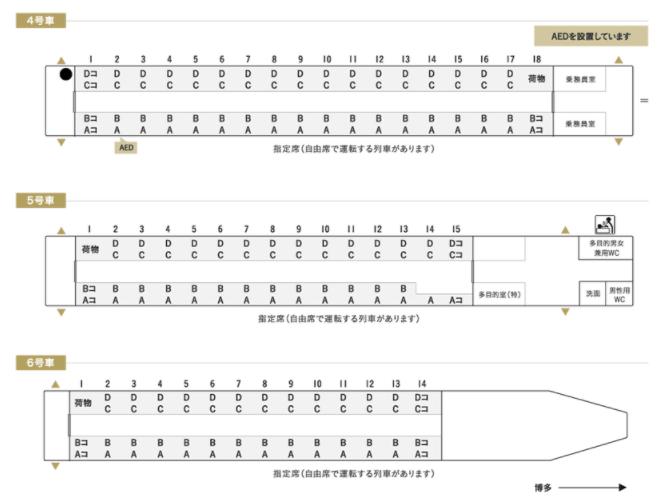 新幹線 800系 編成表