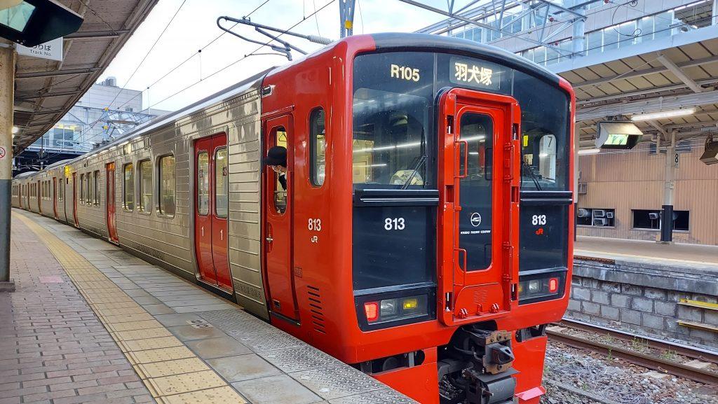 JR鹿児島本線快速 813系