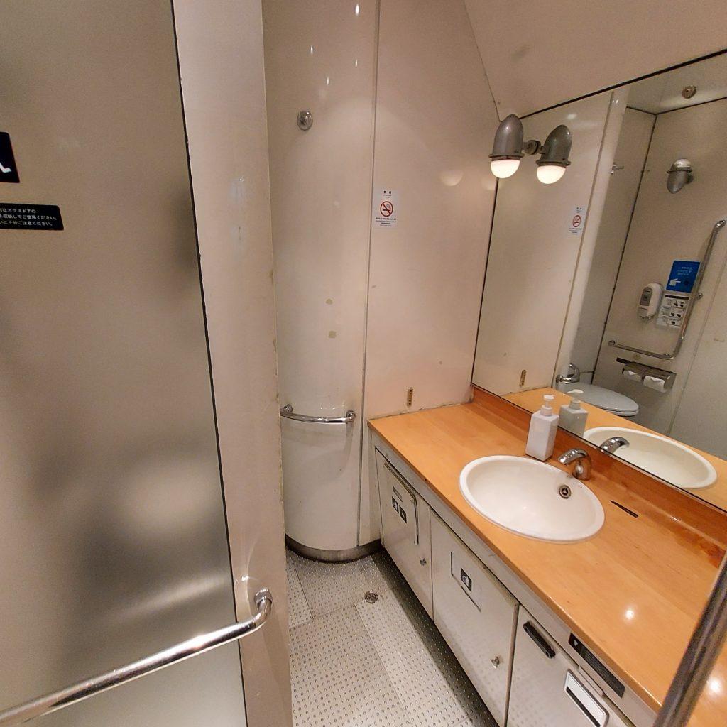 特急 きらめき 787系 多目的お手洗い 多目的トイレ