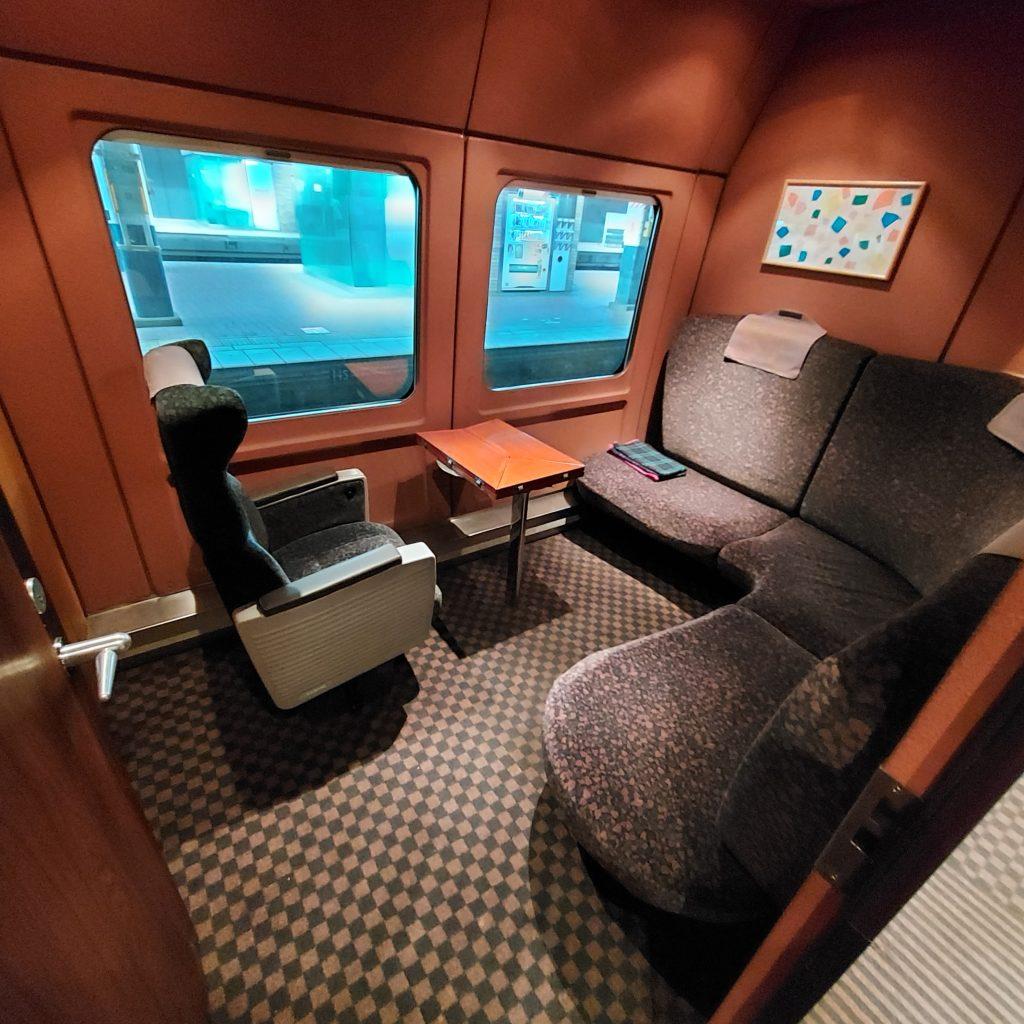 特急 きらめき 787系 グリーン個室
