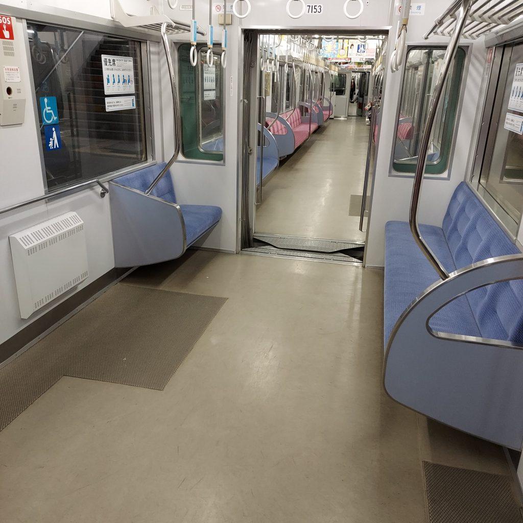 西鉄 天神大牟田線 特急 5000系 車内 優先座席
