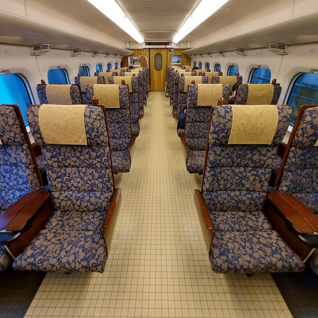 新幹線800系 車内