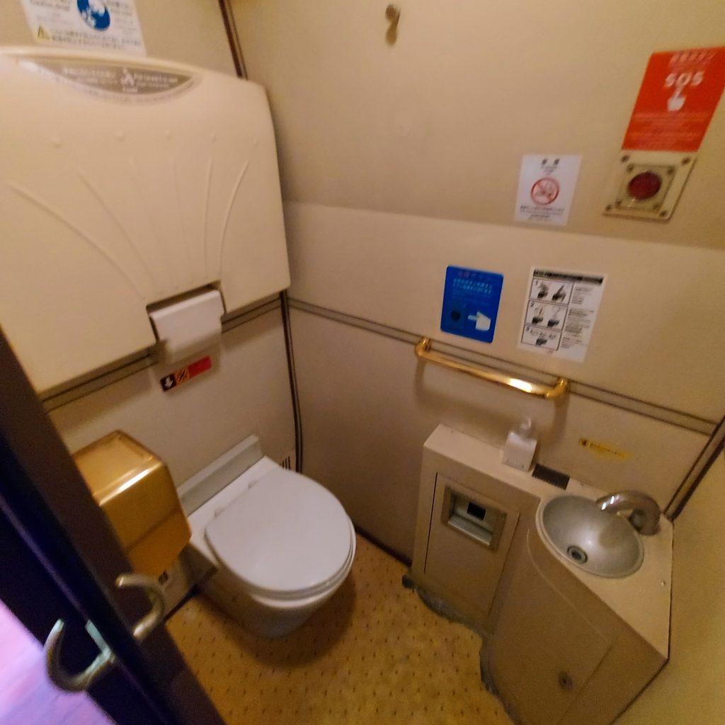 特急 ゆふいんの森 1世 キハ71 お手洗い トイレ