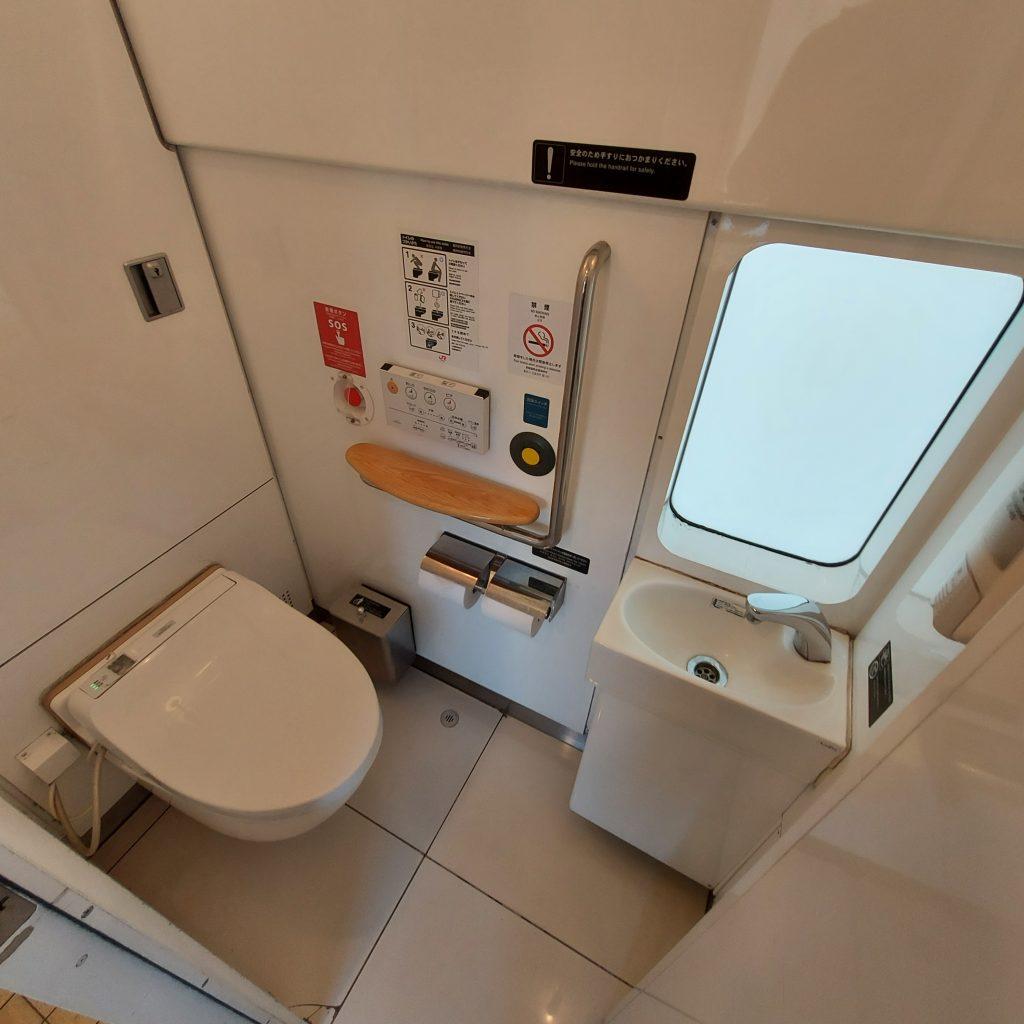 特急 ゆふいんの森 Ⅲ世 キハ72 お手洗い トイレ