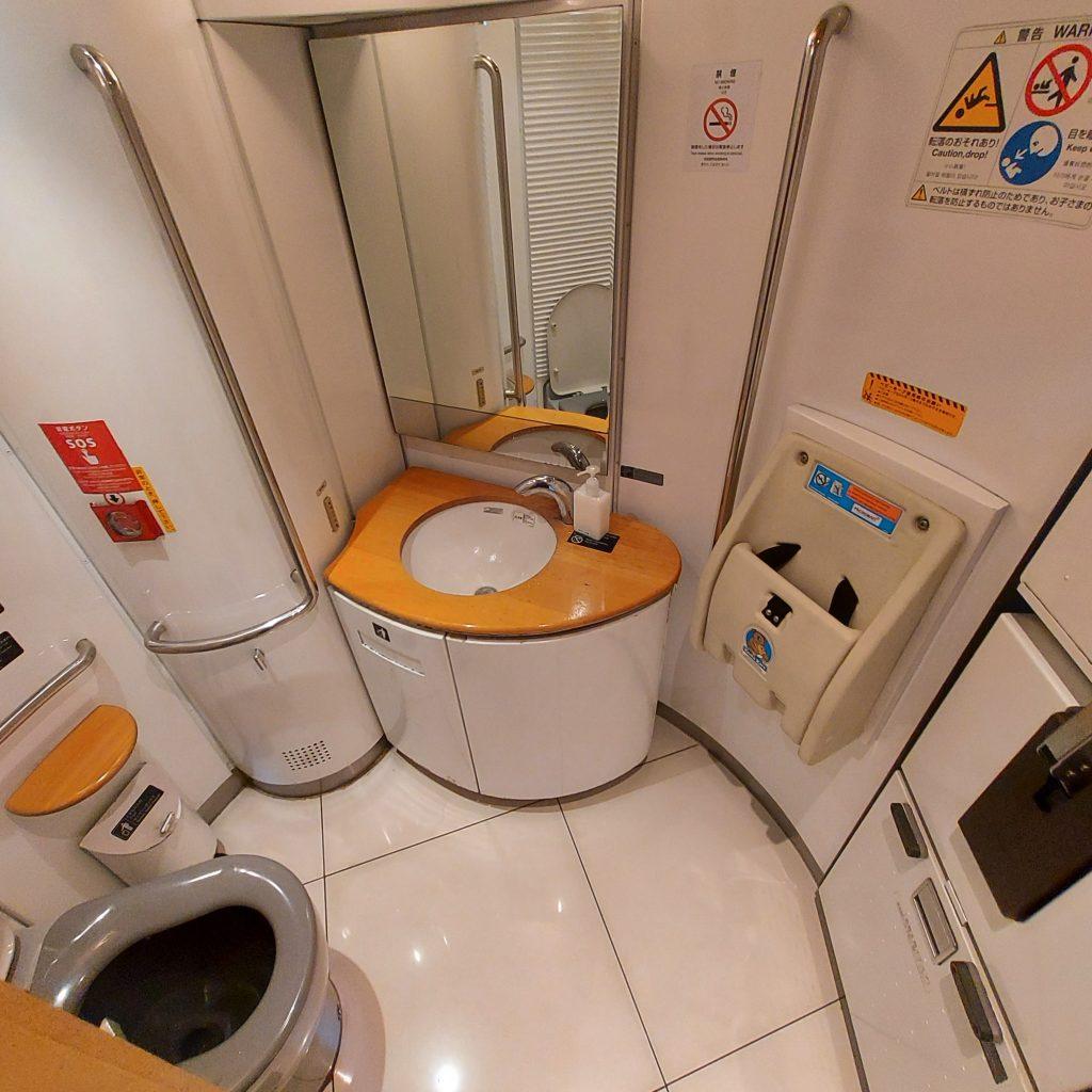 特急 ゆふいんの森 Ⅲ世 キハ72 多目的お手洗い 多目的トイレ