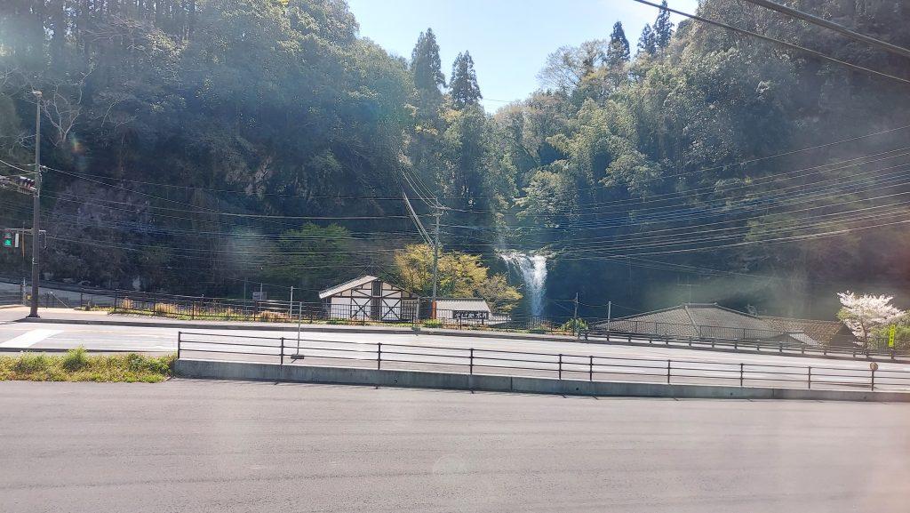 特急 ゆふいんの森 ゆふ 車窓 天ケ瀬 慈恩の滝