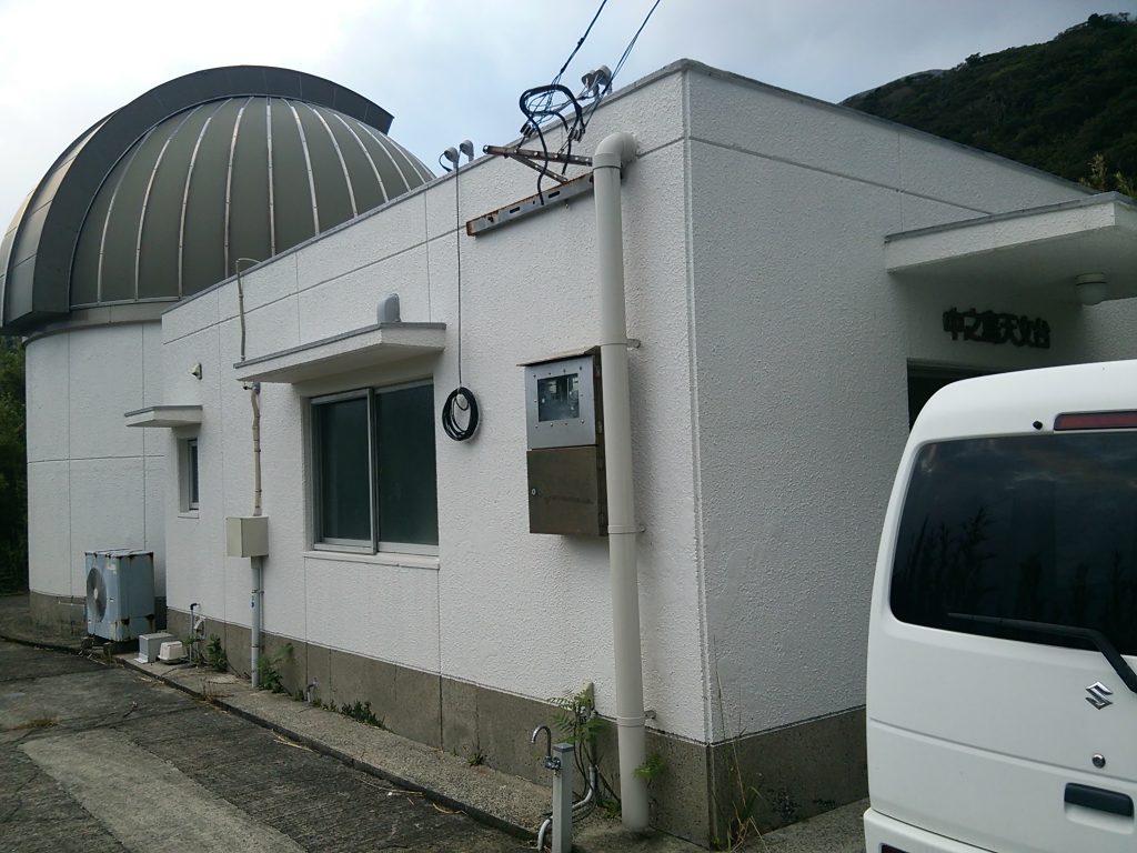 トカラ列島 中之島 天文台