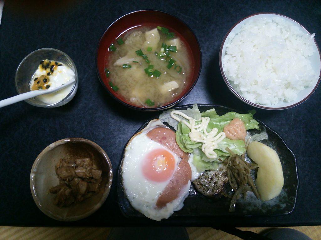 トカラ列島 平島 たいら荘 朝食