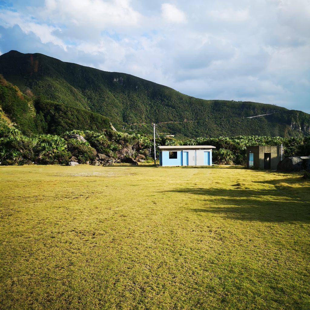 トカラ列島 悪石島 キャンプ場