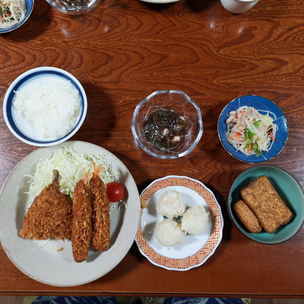 トカラ列島 悪石島 にし荘 夕食