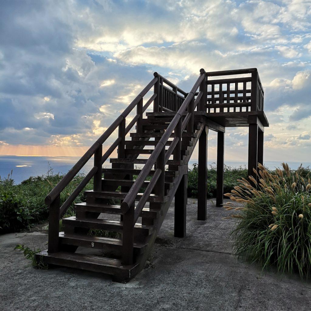 トカラ列島 口之島 フリイ岳展望施設