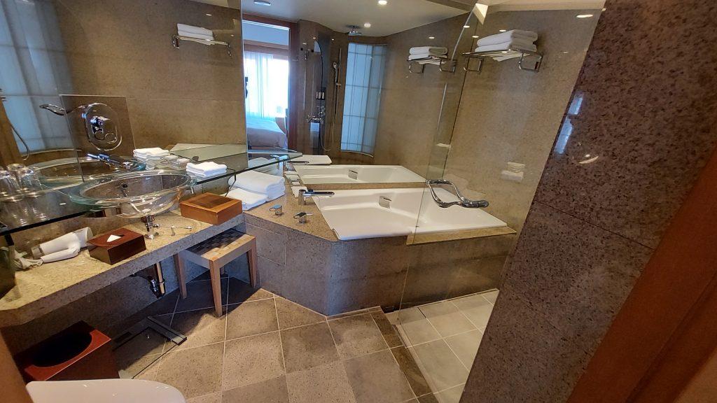 グランドハイアット福岡 クラブキング バスルーム
