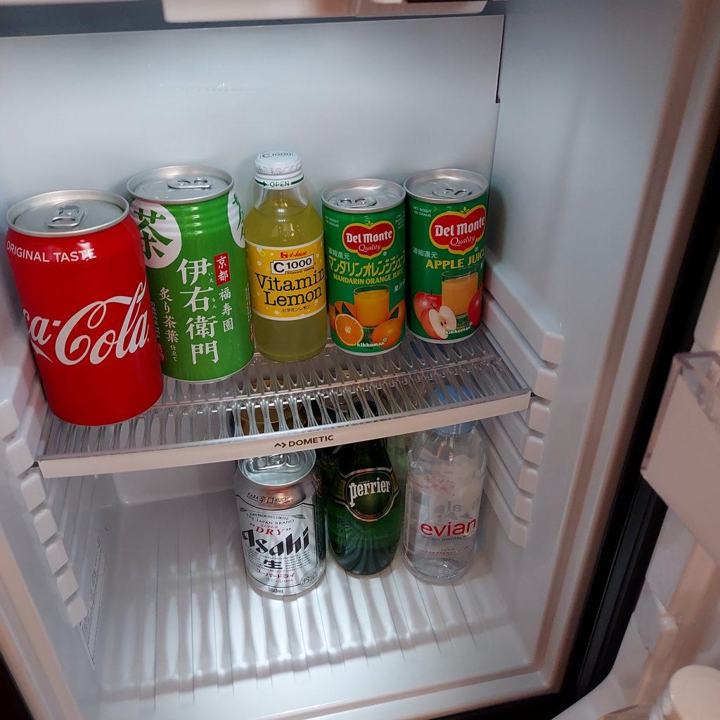 グランドハイアット福岡 クラブキング 冷蔵庫