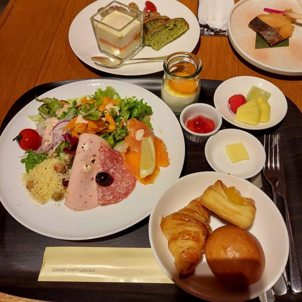 グランドハイアット福岡 ザ マーケット エフ 朝食 洋食